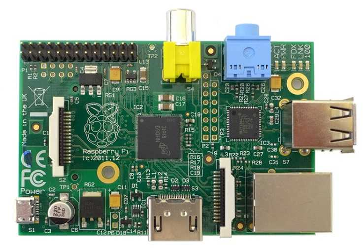 A Raspberry Pi, Model B, Gen 1
